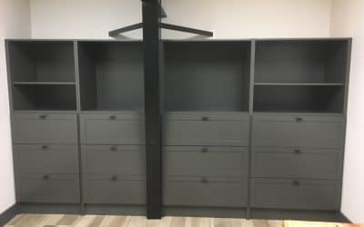 Built-in Shelving Unit