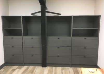Built-in Shelving Unit